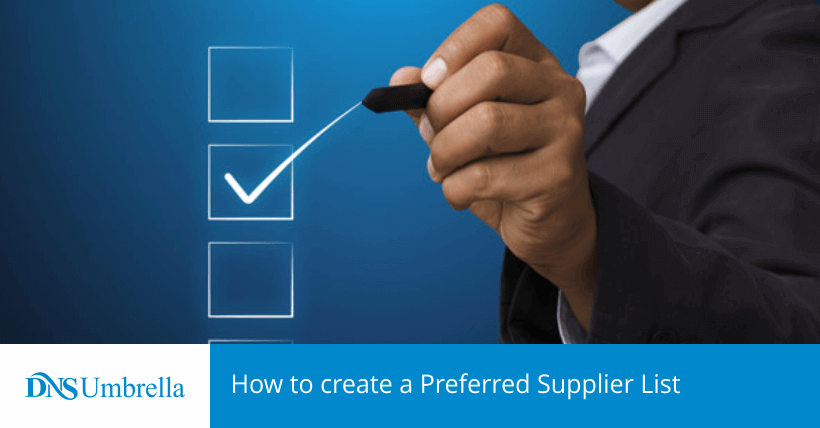 How to Create a Preferred Supplier List?