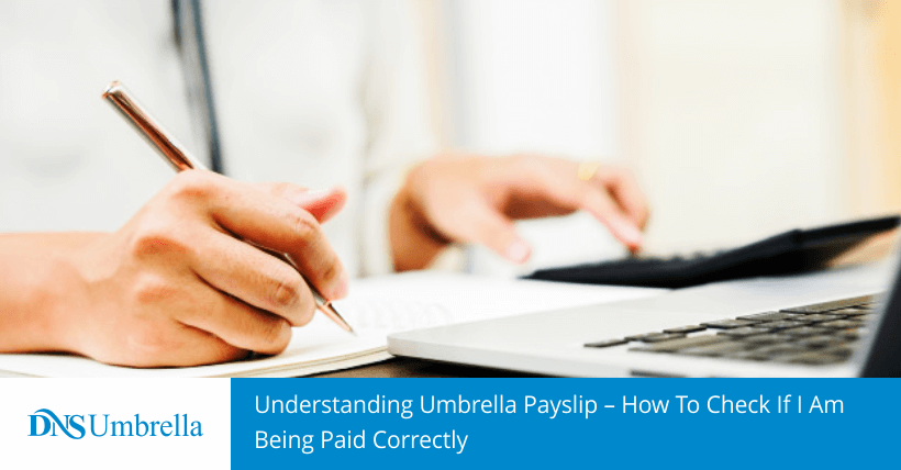 Understanding Umbrella Payslip – How To Check If I Am Being Paid Correctly
